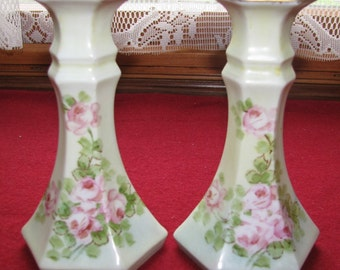 Sale - Vintage Prussian Candle stick holders