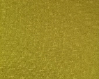 Lime Green Chartreuse Textured Woven Upholstery Fabric