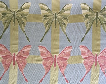 Butterfly - Large Scale - Upholstery Fabric by the Yard