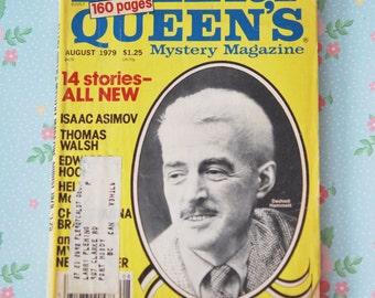 Ellery Queen's Mystery Magazine #429 August 1979