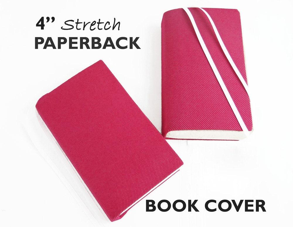 Fabric Book Cover Walmart ~ Paperback book cover pink denim fabric