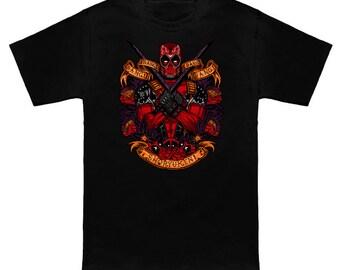 Day of the Dead Merc- Ringspun Tshirt