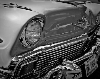 1956 Chevy Bel Air in Black & White