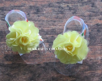 Infant Sandals, Baby Girl Sandals, Barefoot Sandals, Baby Foot Wear, Bottomless Sandals, Photo Shoot Prop