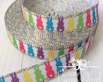 """Easter bunny 7/8"""" grosgrain ribbon"""