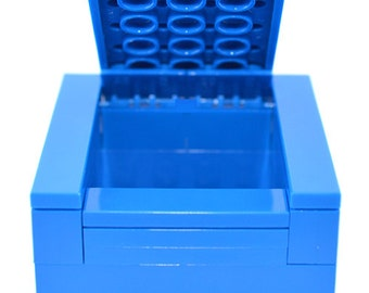 Gift box made of LEGO® bricks for wedding rings or minifigures or other gifts