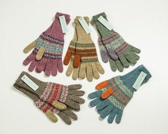 Shetland Fairisle gloves
