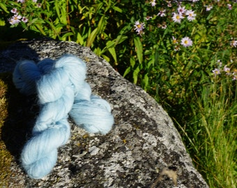 Icelandic pure wool, hand dyed with Indigo 210916-3