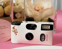 5 Disposable Cameras - Wedding Favors - Party Favor - Great Gatsby Theme - Art Deco - Wedding Photography - Wedding Photo Booth - Single Use
