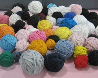 20 lbs T-shirt Yarn Huge Lot Many Colors