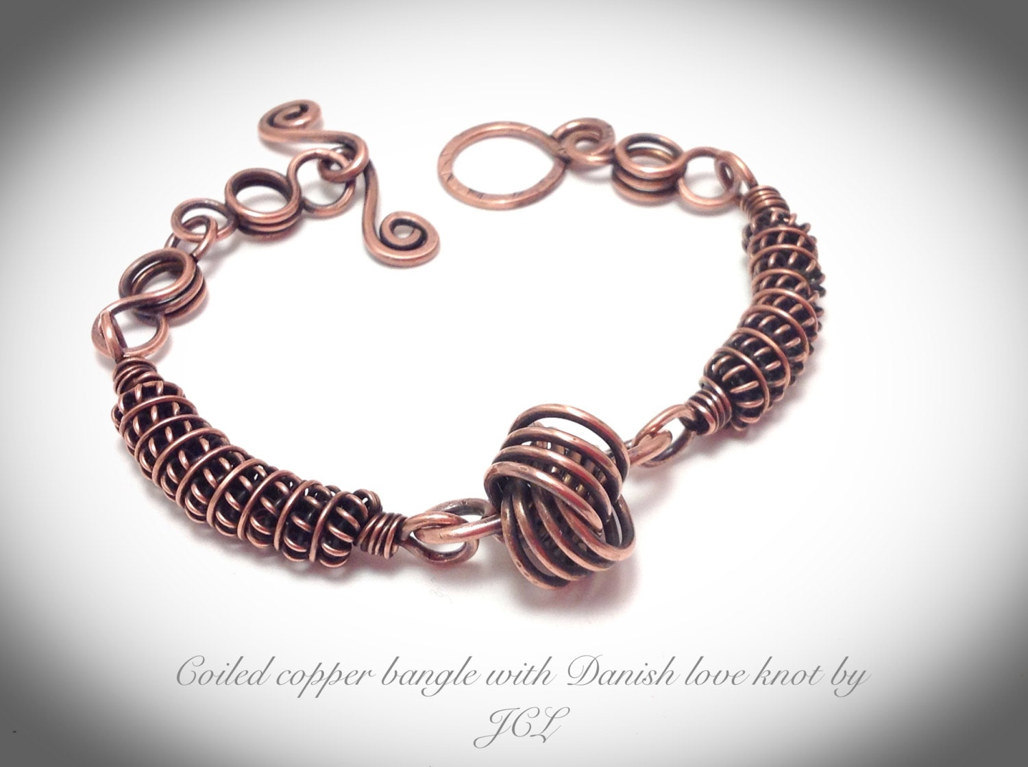 Coiled Wire Bracelet — Crafthubs