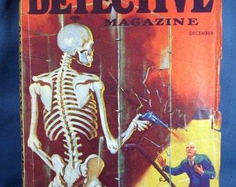 Vintage All Detective Magazine - December 1934