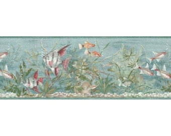 Fishes B74054 Wallpaper Border