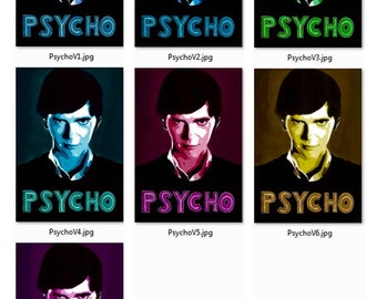 Psycho Bates Motel Poster Norman 18x24 24x36 Poster Print Freddie Highmore