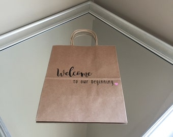 Wedding welcome bags, wedding welcome, wedding weekend itinerary, Wedding welcome bag kits, Personalized welcome bags, Personalized, wedding