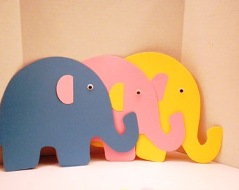 Die Cut-Elephants (30)- Elephant, Supplies, Scrapbooking, Elephants, Scrapbook, Embellishments
