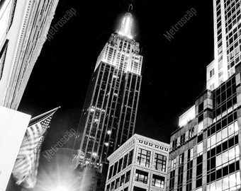 Black and White, New York City Photography, Empire State Building, Fine Art Photography, NYC Pictures, Midtown Manhattan