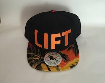 LIFT Sun Orange snapback