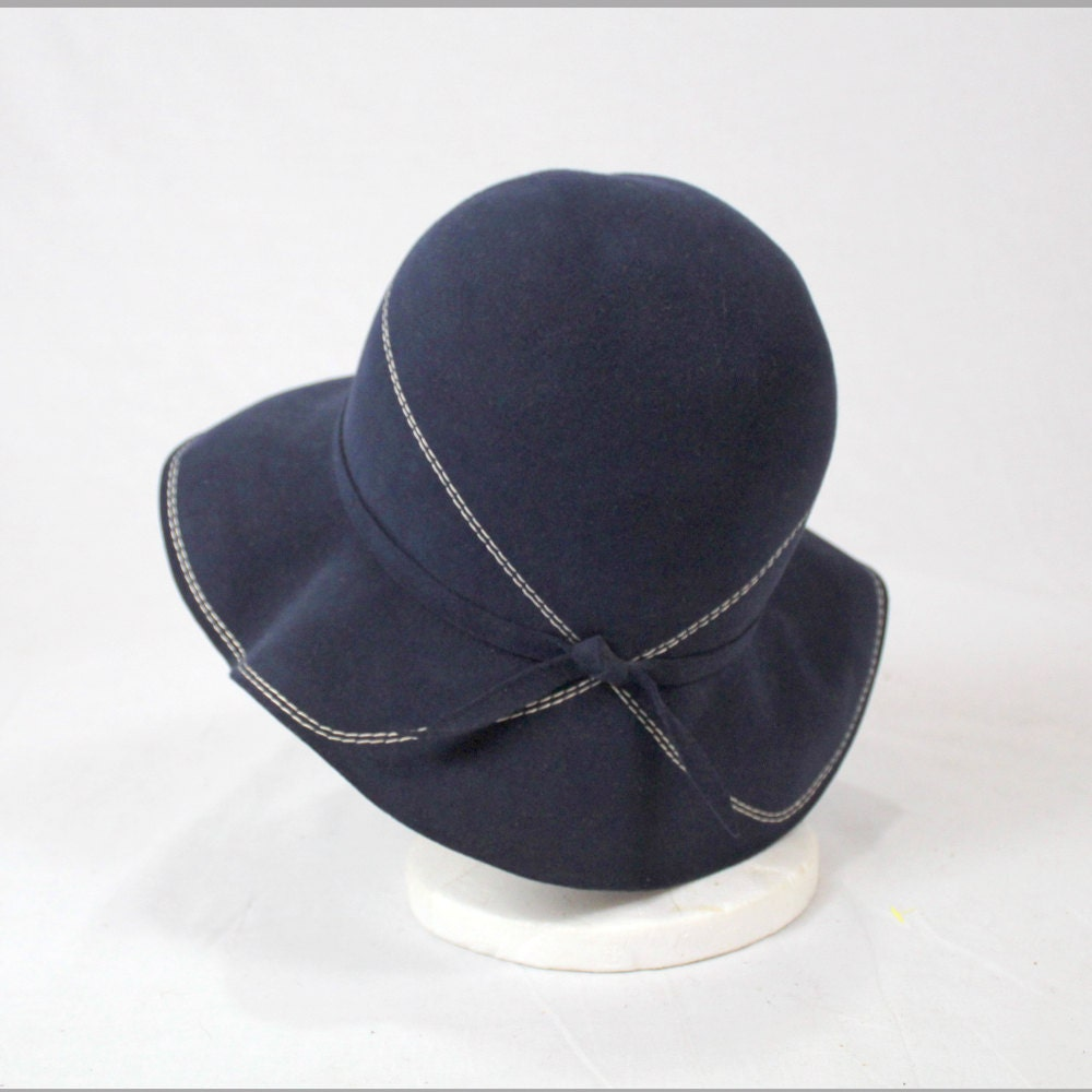 b2d419c2f0e3a 301 Moved Permanently 1930s Hats  Vintage 1930s Hat Women 1930s Cloche Hat Felted  Wool Hat S