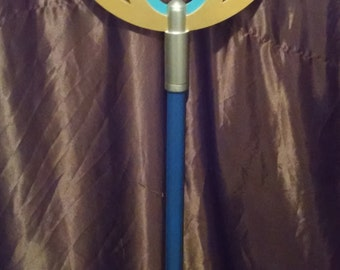 Final Fantasy X Yuna Cosplay Staff