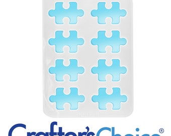 Puzzle Piece Silicone Soap Mold (CCh-1615)