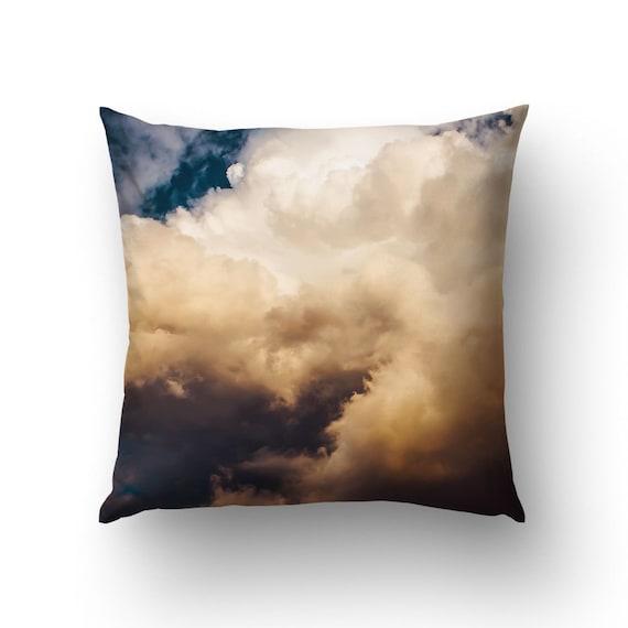 Sky Pillow, Cloud Pillows, Storm Clouds, Nature Pillow, Pillow Cover