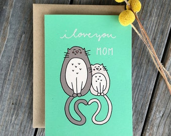 "Shop ""mother of cats"" in Paper & Party Supplies"