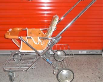 Vintage 1970's Baby Stroller