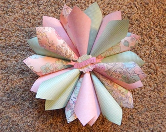 Is it a Boy or Girl? Baby Gender Reveal Paper Wreaths!