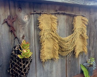 Tapestry - [ Study no. 1 ] tapestry, weaving, wall hanging, home decor, fiber art, wool, vintage