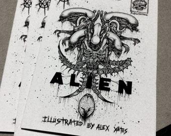 ALIEN Art Book