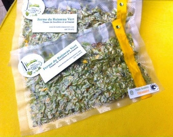 Tasty Hop and lemon herbal tea, without lemon; relaxing (15g)