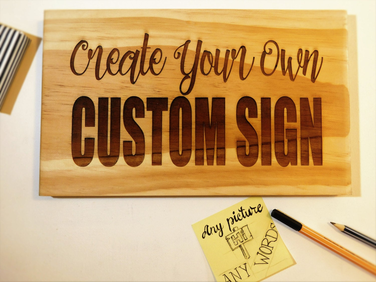 custom made signs personalized sign custom made wooden sign