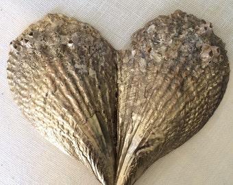 Beach wedding aisle runner | beach wedding decorations | gold seashells | pen shells | unique beach wedding decor | coastal wedding