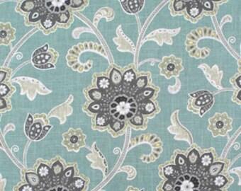 BIG SALE!!!,Ankara Pond, Fabric By The Yard, Braemore Fabrics