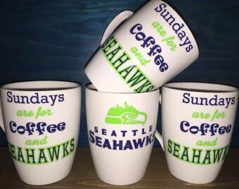 Seattle Football SeaHawks Coffee Cup/Mug