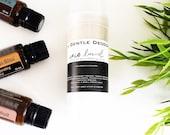 ANTHRO GENTLE DEODORANT // gentle deodorant // cruelty free // aluminum free // non toxic // organic deodorant // natural deodorant // oils
