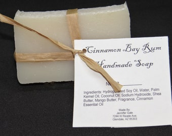 Cinnamon Bay Rum Handmade Cold Process Soap