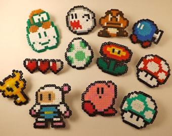 Various Nintendo Pixel Pins