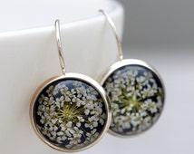 Real flowers Earrings