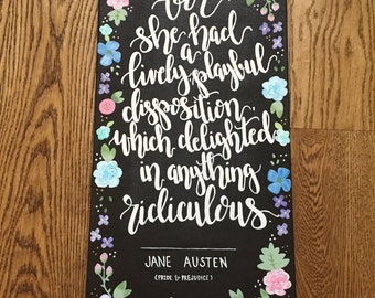 Jane Austen Canvas