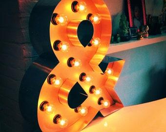 Letter lamp Bulbs 40 cm