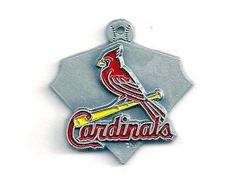 St Louis Cardinals Baseball Charm