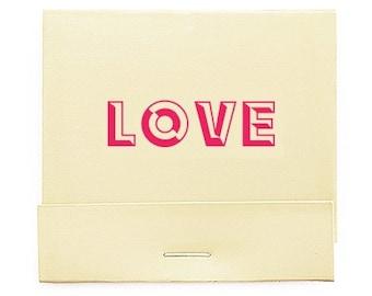 lot de 50 pop art amour imprimer les cartons dallumettes imprim bote dallumettes matchs personnaliss personnalis bote dallumettes faveurs - Boite D Allumette Personnalis Mariage
