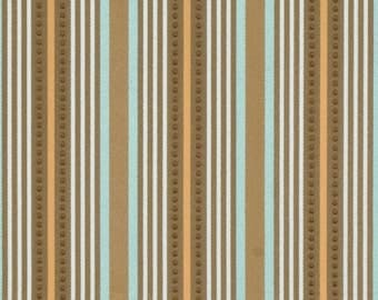 Jaclyn Smith Pryce-Spa Stripe Home Decor Fabric Remnant