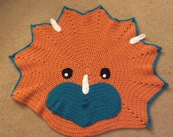 Danny the Dinosaur Rug nursery decoration baby infant room decor gift rug mat