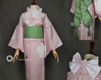 Cardcaptor Sakura - Sakura Kinomoto Yukata Cosplay Costume
