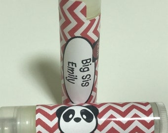 Alpha Omicron Pi Little/Big Personalized Lip Balm