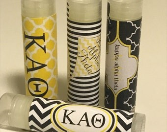 Kappa Alpha Theta Little/Big Personalized Lip Balm