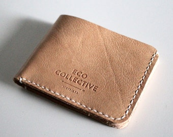 Personalised Mens Wallet Leather Gift for Him Handmade in Australia